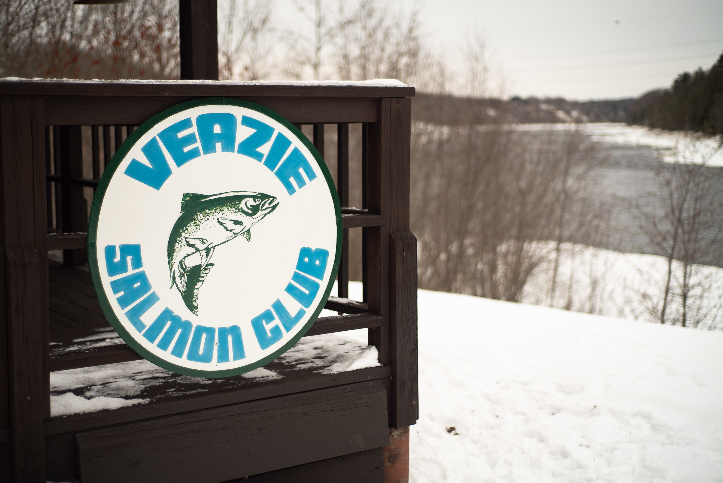The Veazie Salmon Club sits on the west bank of the main stem of the Penobscot. Photo: Chris Battaglia
