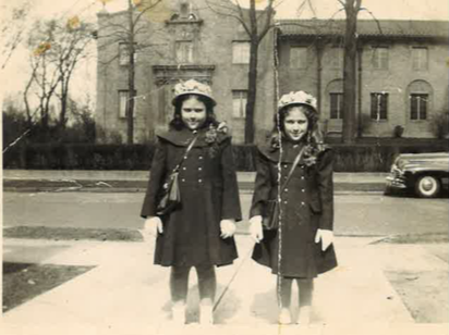 Felicia and Rita Petruziello - The school-aged sisters were inspired by the humor and humanity of the Sisters who taught them.