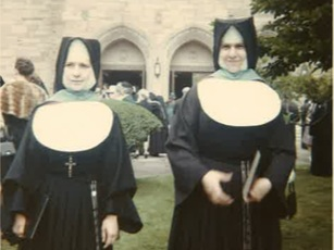 Felicia and Rita Petruziello - The sisters were emblazoned by passion and purpose and became Sisters!