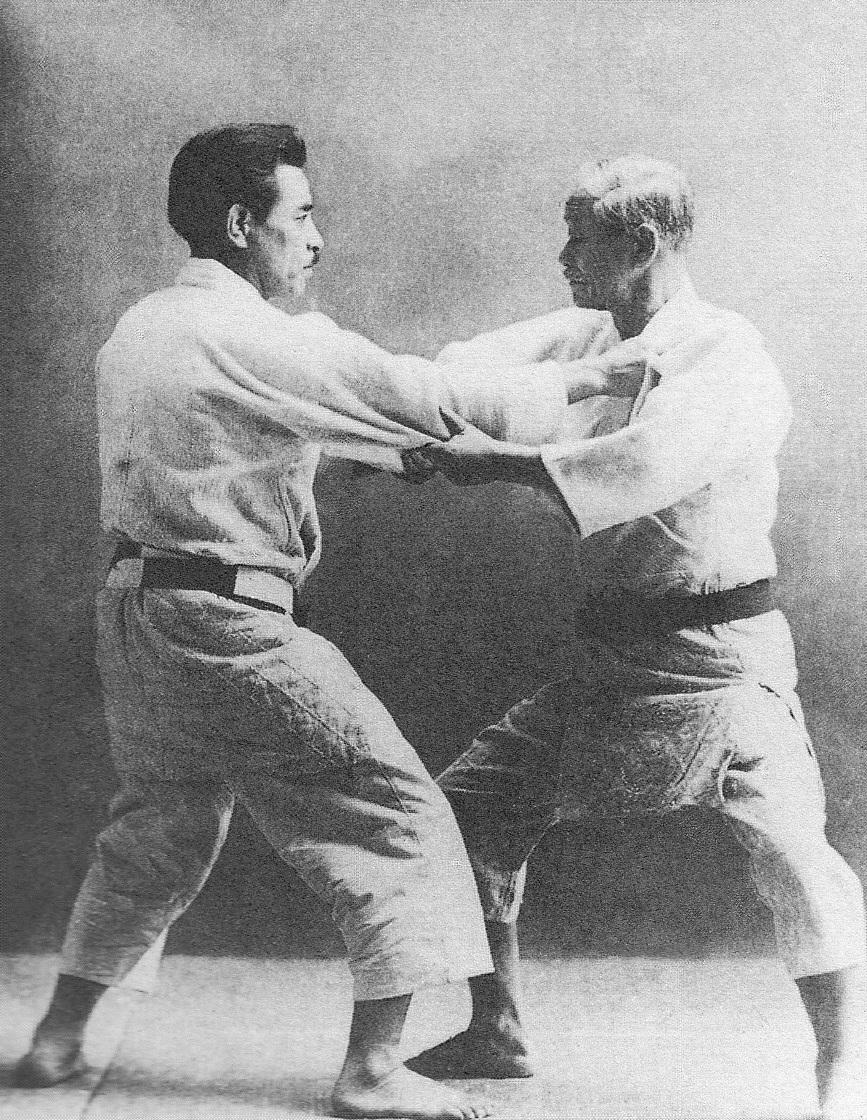 Jigoro_Kano_and_Kyuzo_Mifune_(restoration).jpg