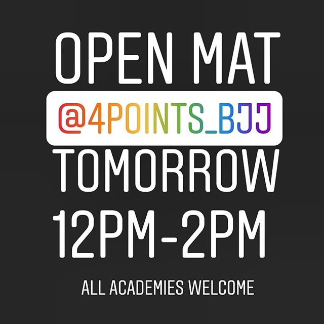 If you are not attending a grading tomorrow at Action Reaction or BO4, we will be holding a Sunday Open Mat this week at our academy in Midtown Toronto. All academies are welcome to come hang out and get some rolls in. (location in bio). If you ARE attending a grading, good luck, have fun and congrats! 😁🥳 #bjj #toronto #bjjtoronto #leaside  #leasidebjj #torontolife