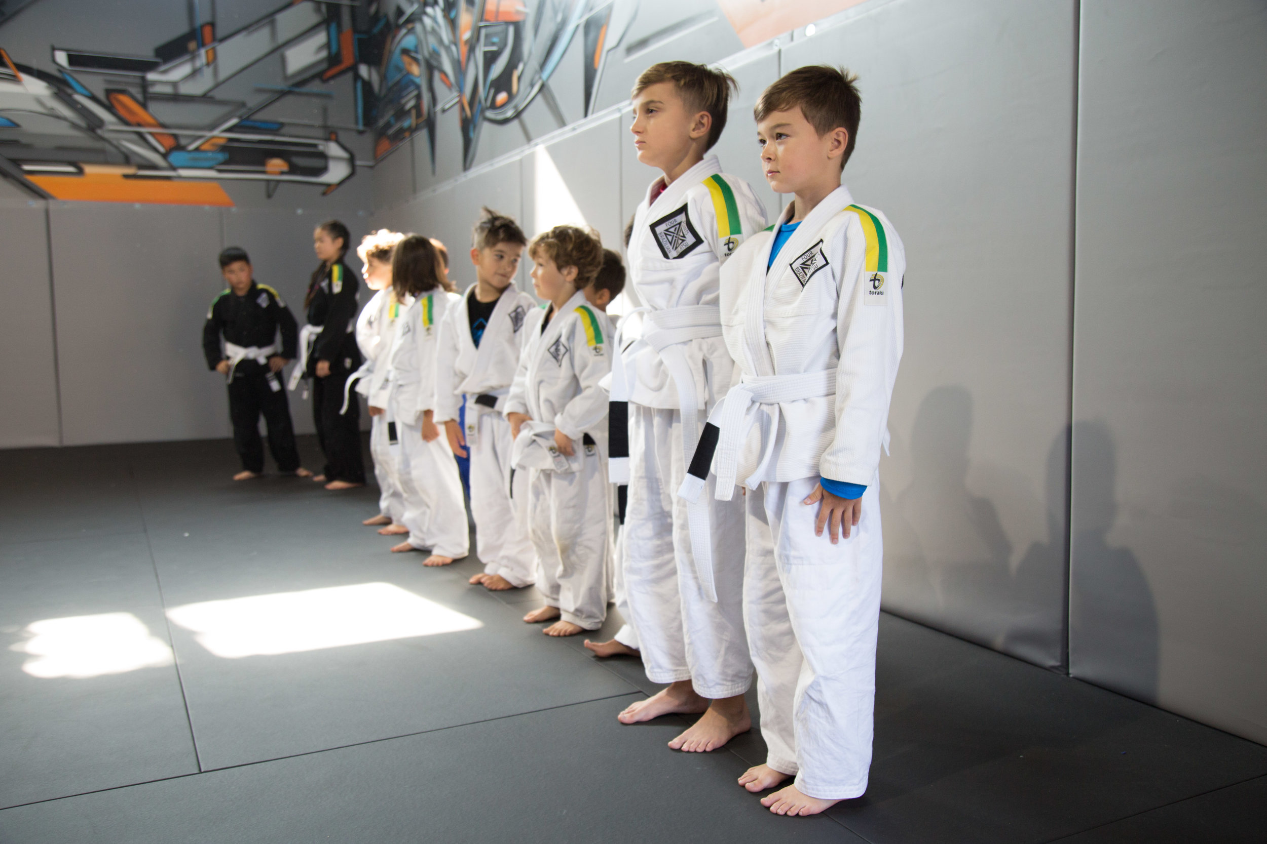 respect - There is no BJJ without your opponent. Our students build on close bond based on mutual respect and acceptance. Respect of the pride of belonging to this team.
