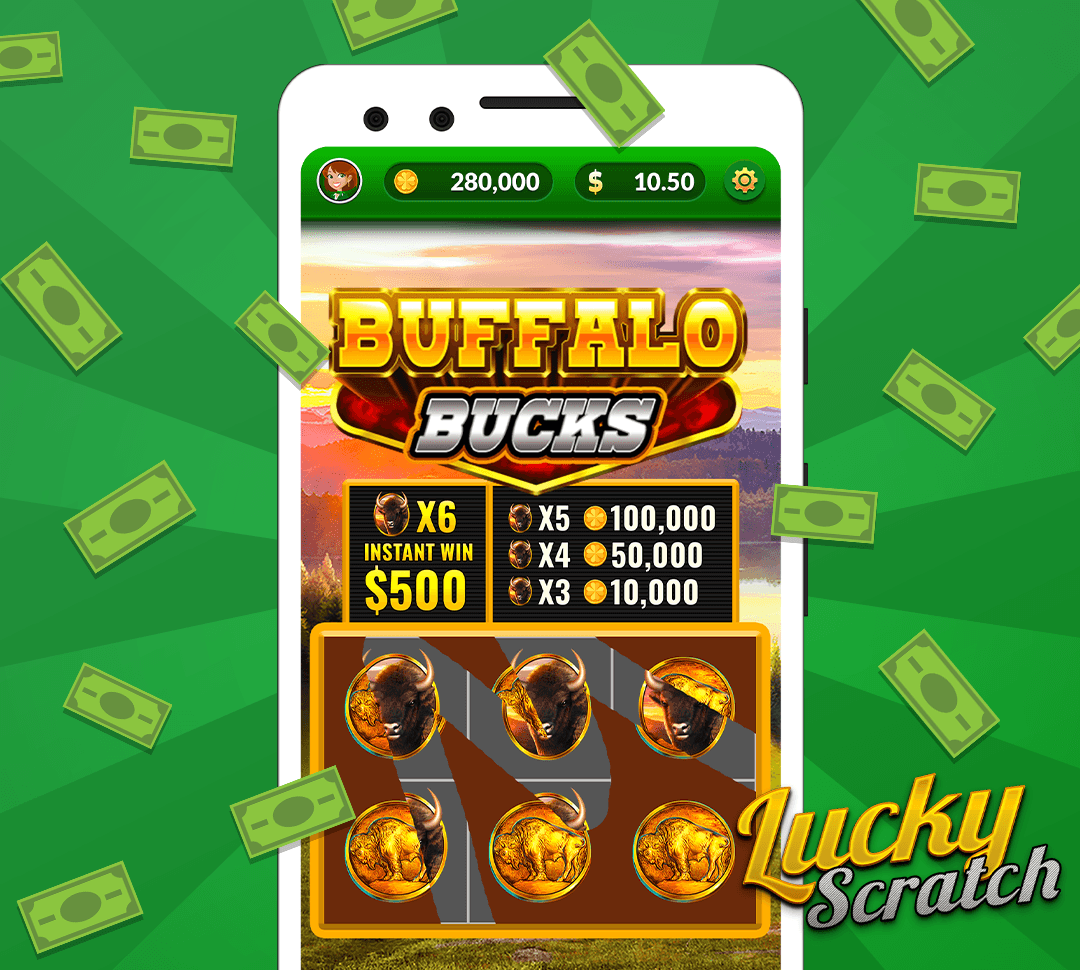 Win real money - There are daily opportunities to win instantly by playing scratcher games and entering sweepstakes contests.
