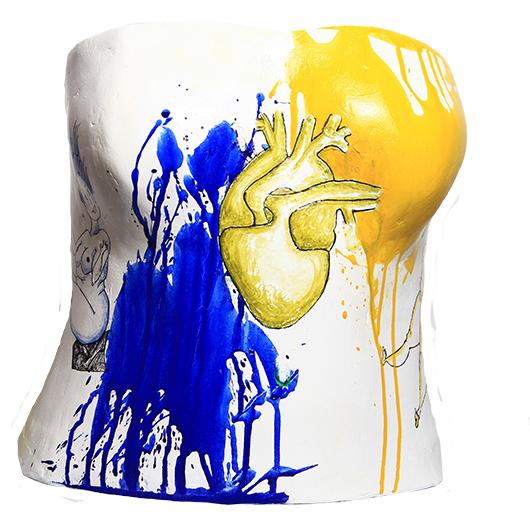 ARTIST: DOROTHEE DURET | CASTEE: ZINEB REGHAY