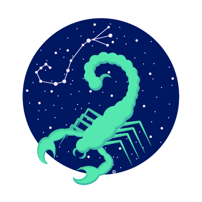 Scorpio - This month you'll be feeling these eclipses, Scorpio, so do your best to lay low and get enough rest this month. Plan a massage, acupuncture appointment or pencil in some time out in nature. You'll be able to come up with a solution to your current issues if you take some time to focus on self-care.