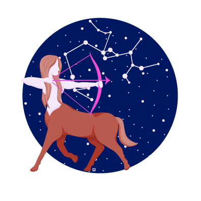 Sagittarius - Let your spiritual side guide your health this month, Sagittarius. Try out a martial arts class, or attend a breathwork session to reconnect with your body. Physical and spiritual health are truly intertwined, so focusing on one will help improve the other.