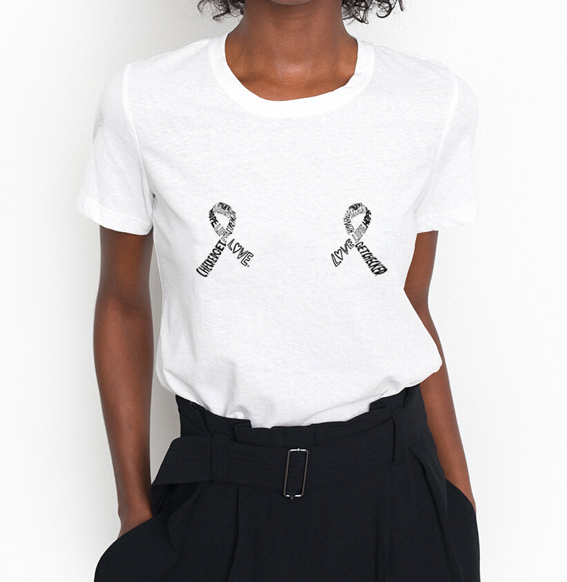 A.L.C. - 100% of the proceeds from the Keep A Breast Bambina t-shirt benefit KAB!