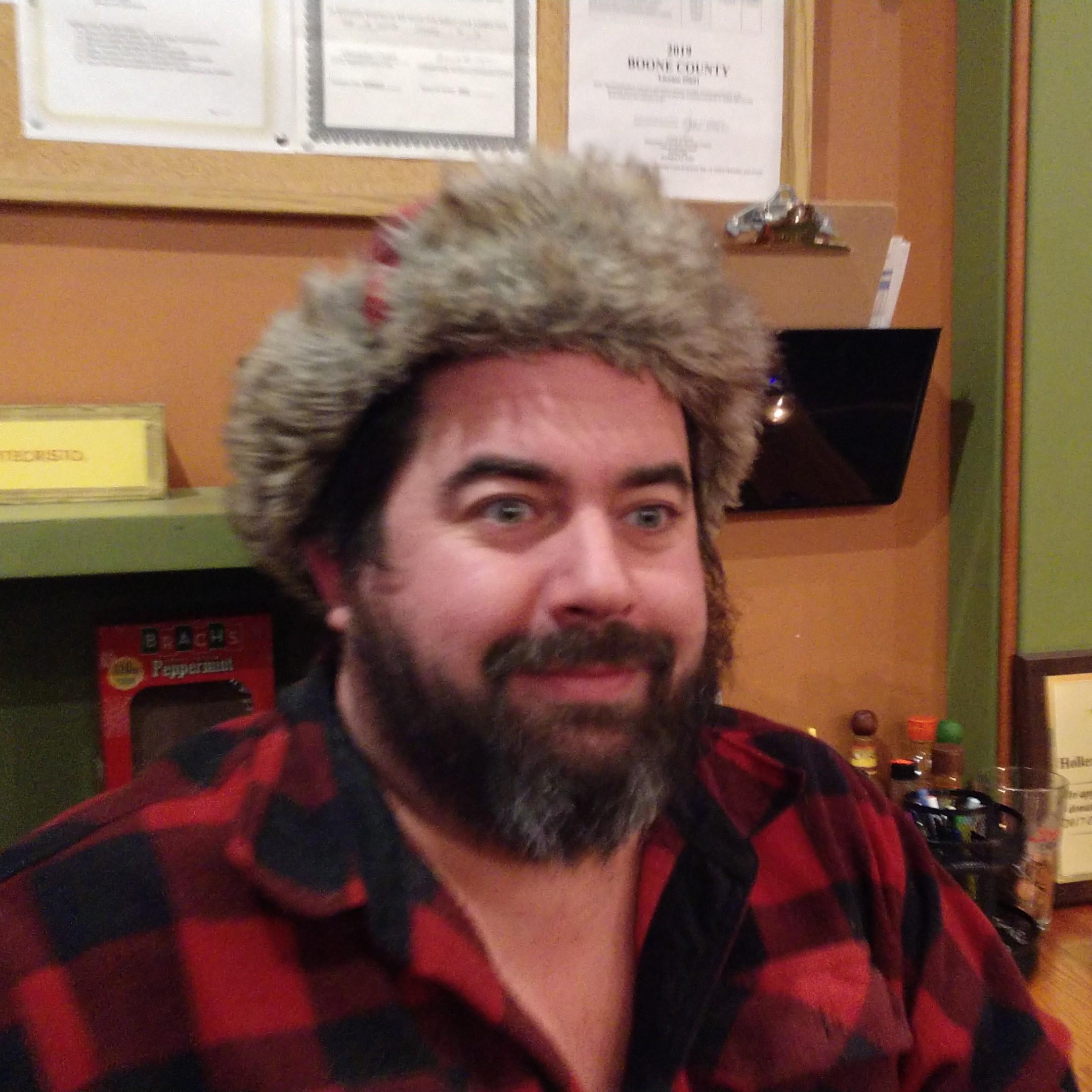 Trent - Owner, Man of Strange Hats and Crazy Eyes