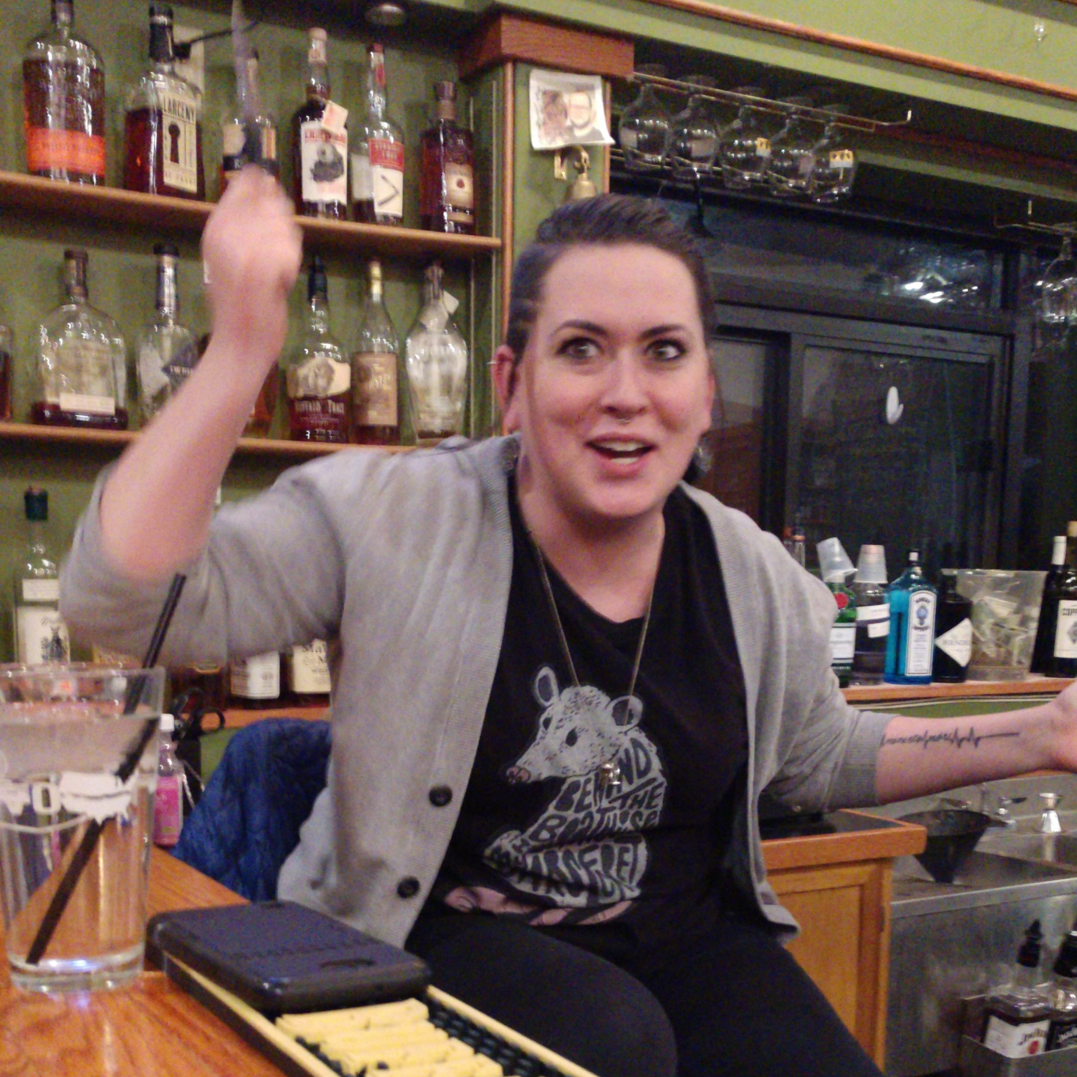 Candi - Bartender, Protector of All That is Good and Holy