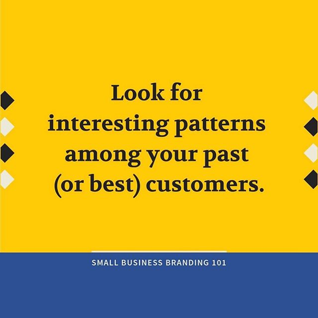 Whenever you're feeling stuck in your business, we recommend taking a look at your best customers/clients in the past. What do they have in common? How did you start working with them? Where can you find more people like them? 🤔  Our best business decisions have flowed from this exact exercise!
