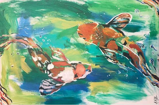 Sarah (age17) + Artist