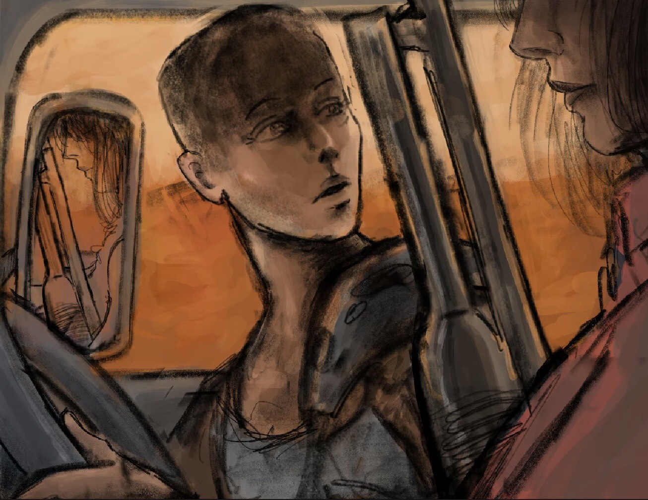Sketch of  Furiosa   See the full image  here
