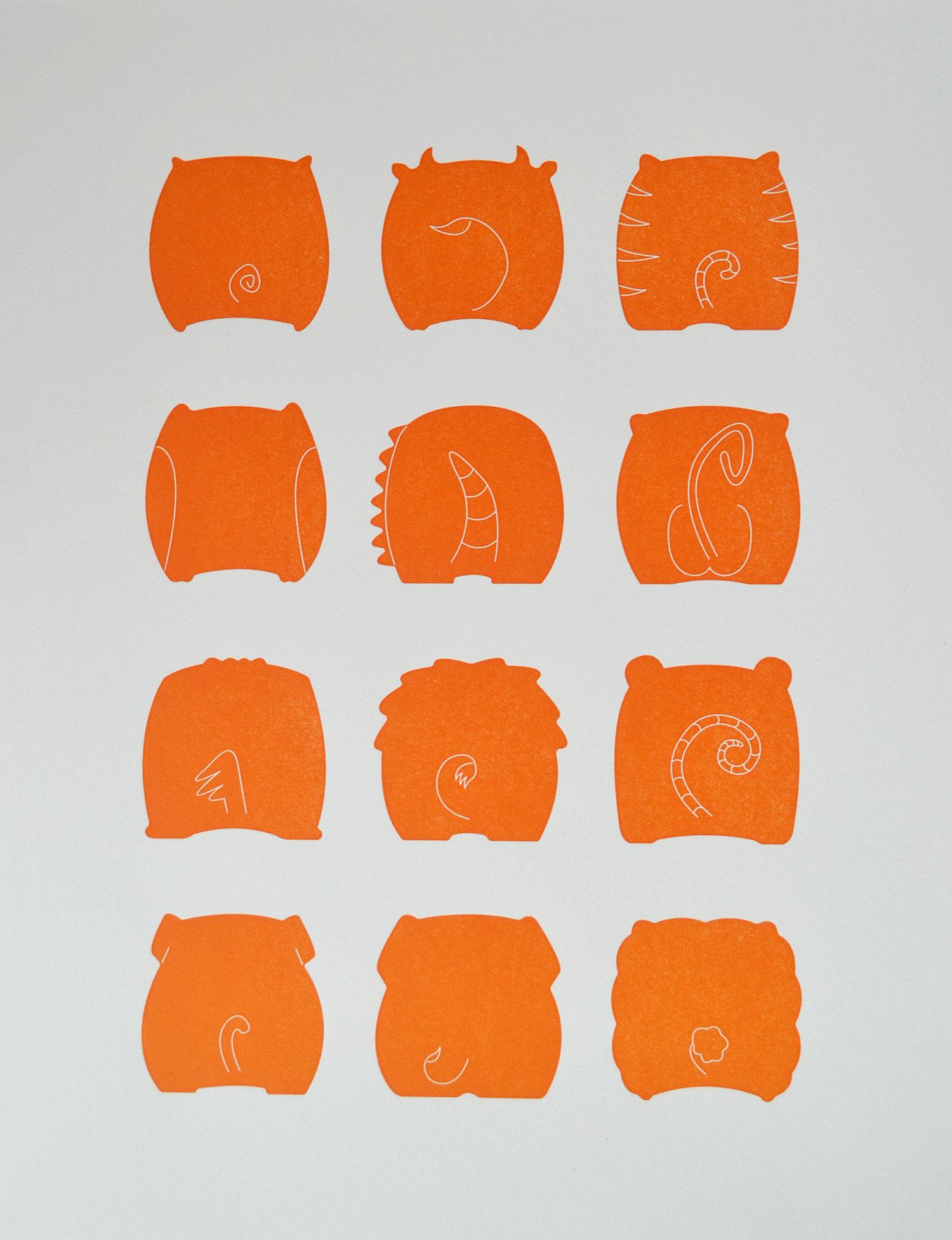 Orange Butts