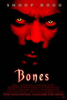 Bones - Roxy, Dan, and Dean take Rat Messiah Amy's advice to buy a house, turn it into a nightclub, and watch the movie Bones, a 2001 supernatural horror film by Ernest Dickerson and starring the one and only Snoop Dogg. Bones… is their dollars.