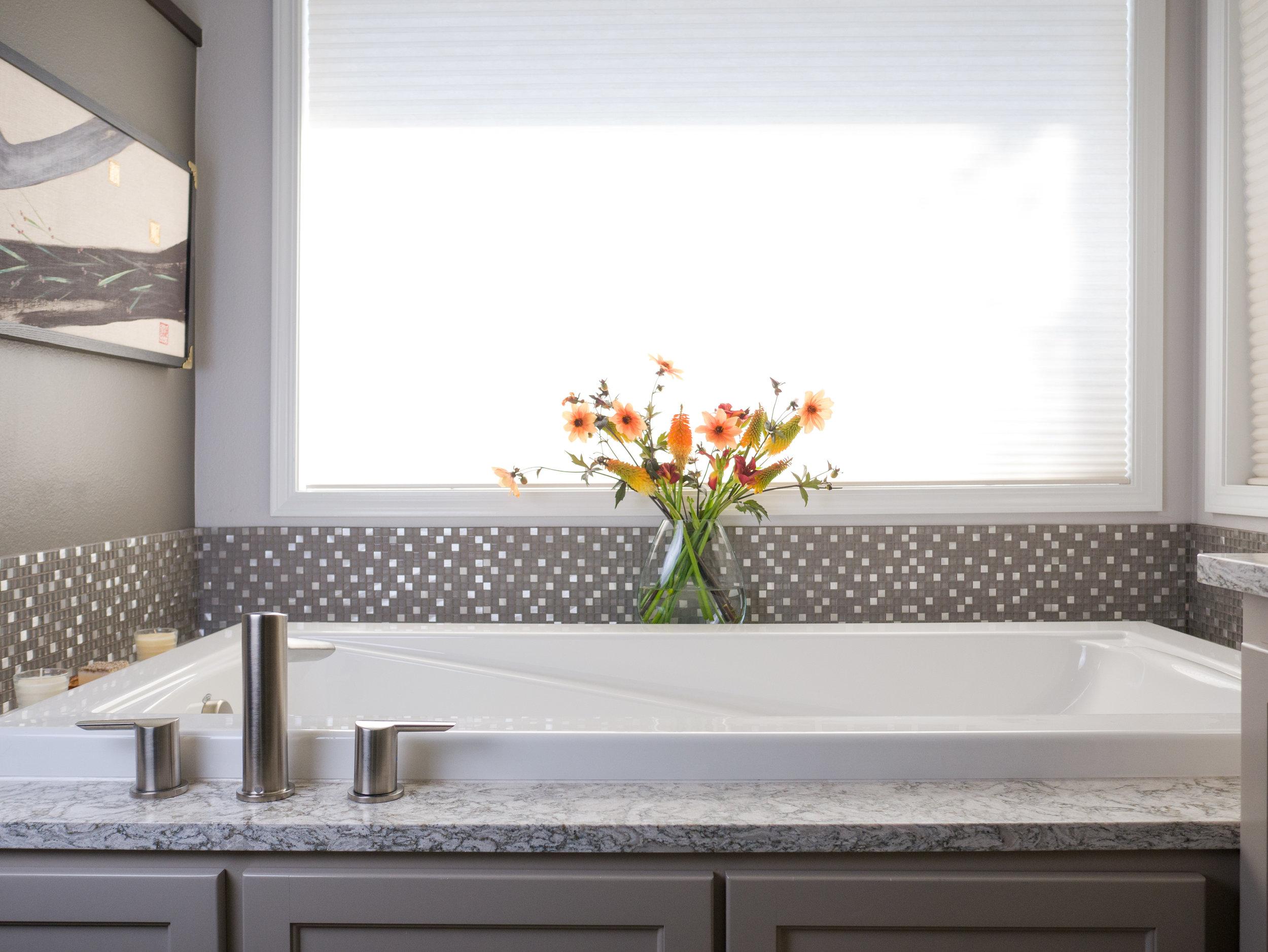 Monorail Silver  Bath Remodel