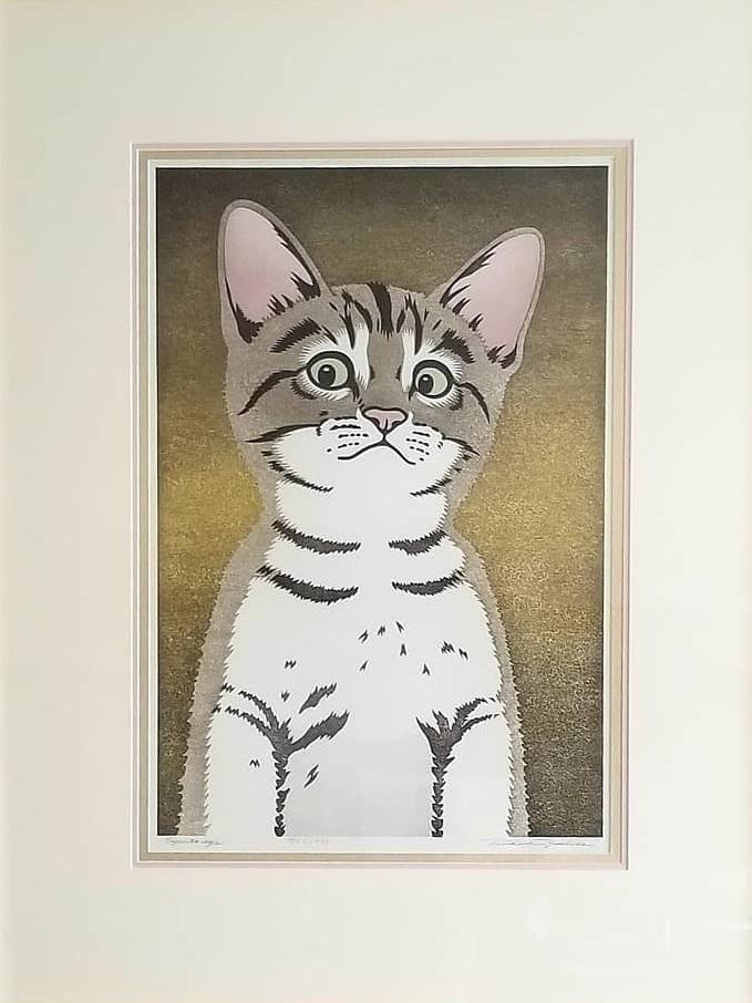Alfred | Japanese Wood Block Print from Azuma Gallery in Seattle | Framer - Lissa - Hangin' Custom Framing