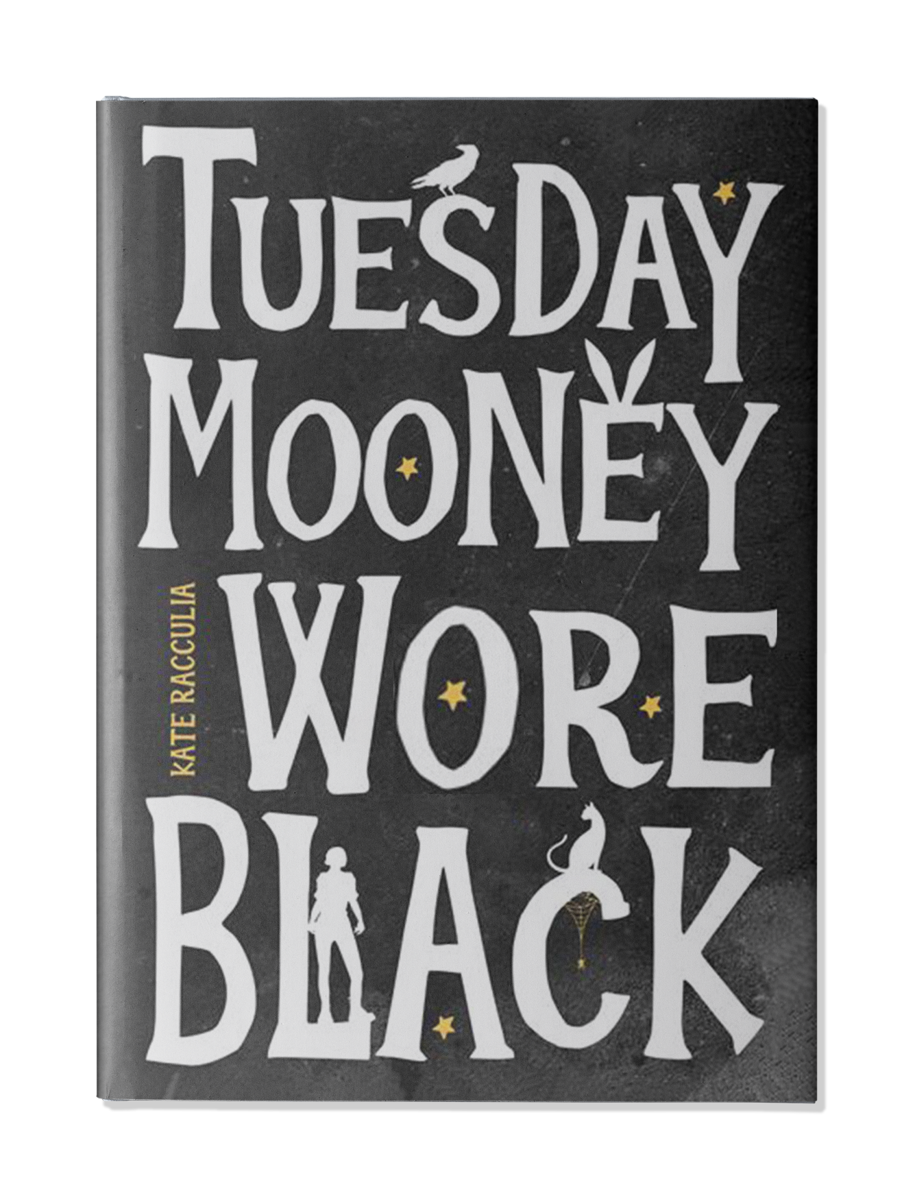 Published in the United Kingdom as  Tuesday Mooney Wore Black  by  HarperCollins UK !