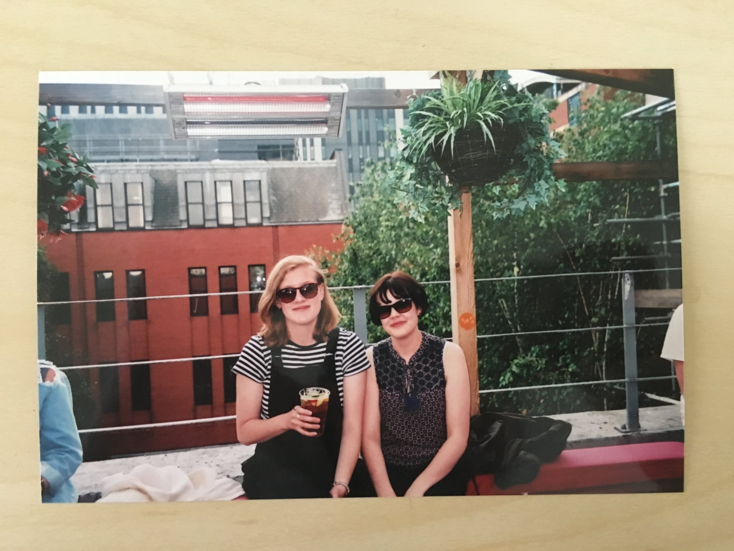 Took my first trip to Leeds in June. I loved the city and this roof top terrace.