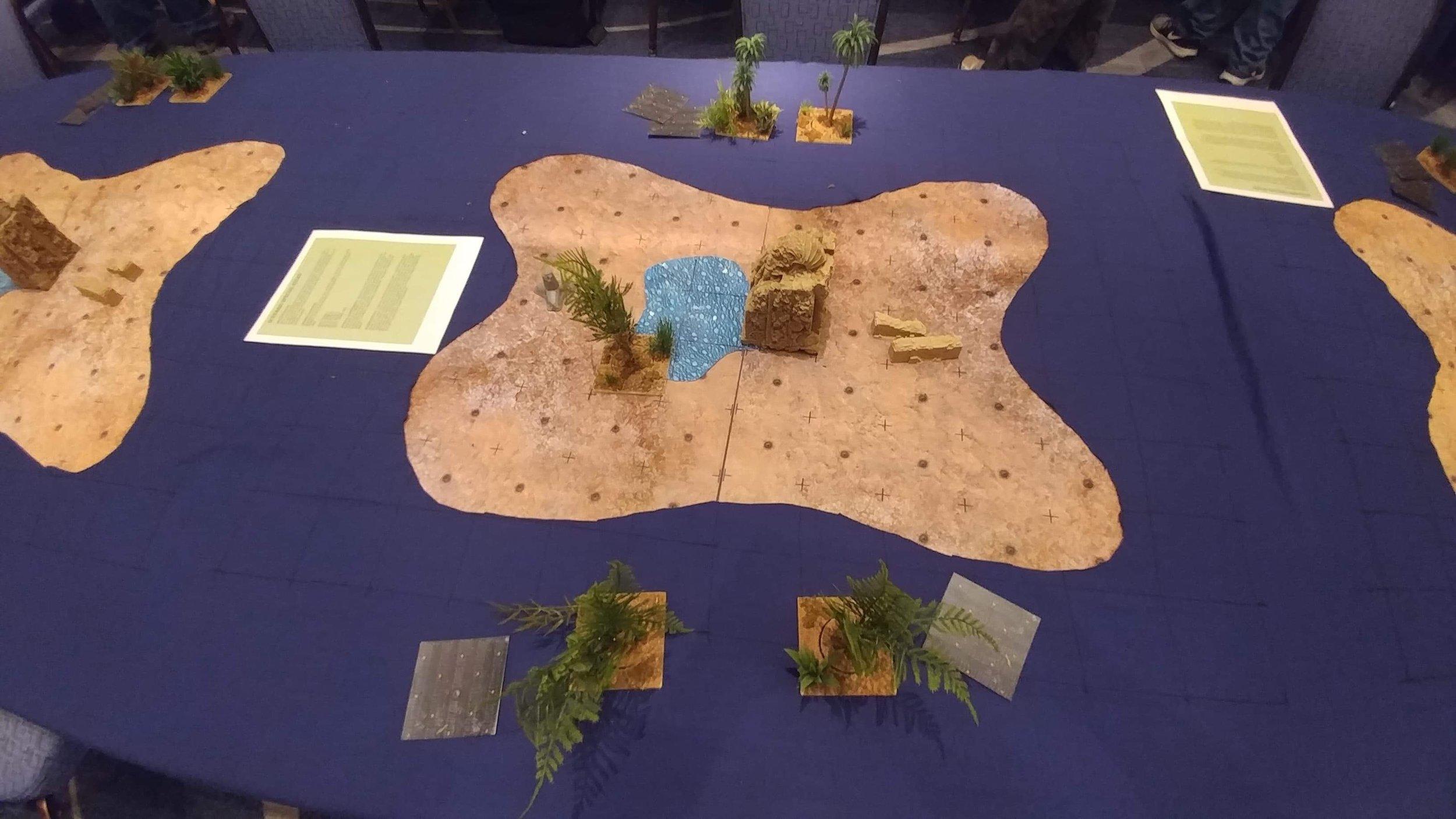 A very aggressive island!