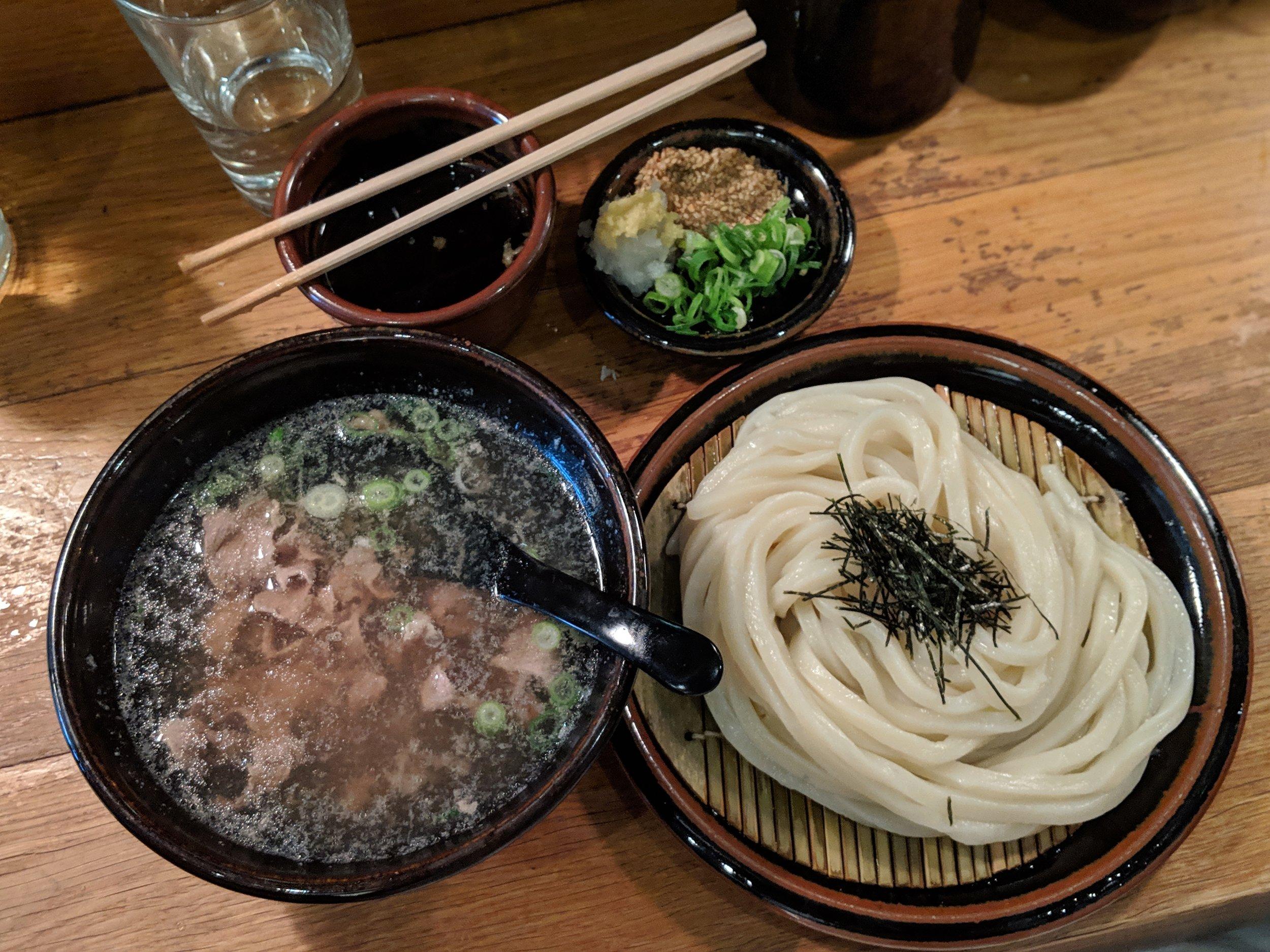 Beef niku hiya-atsu