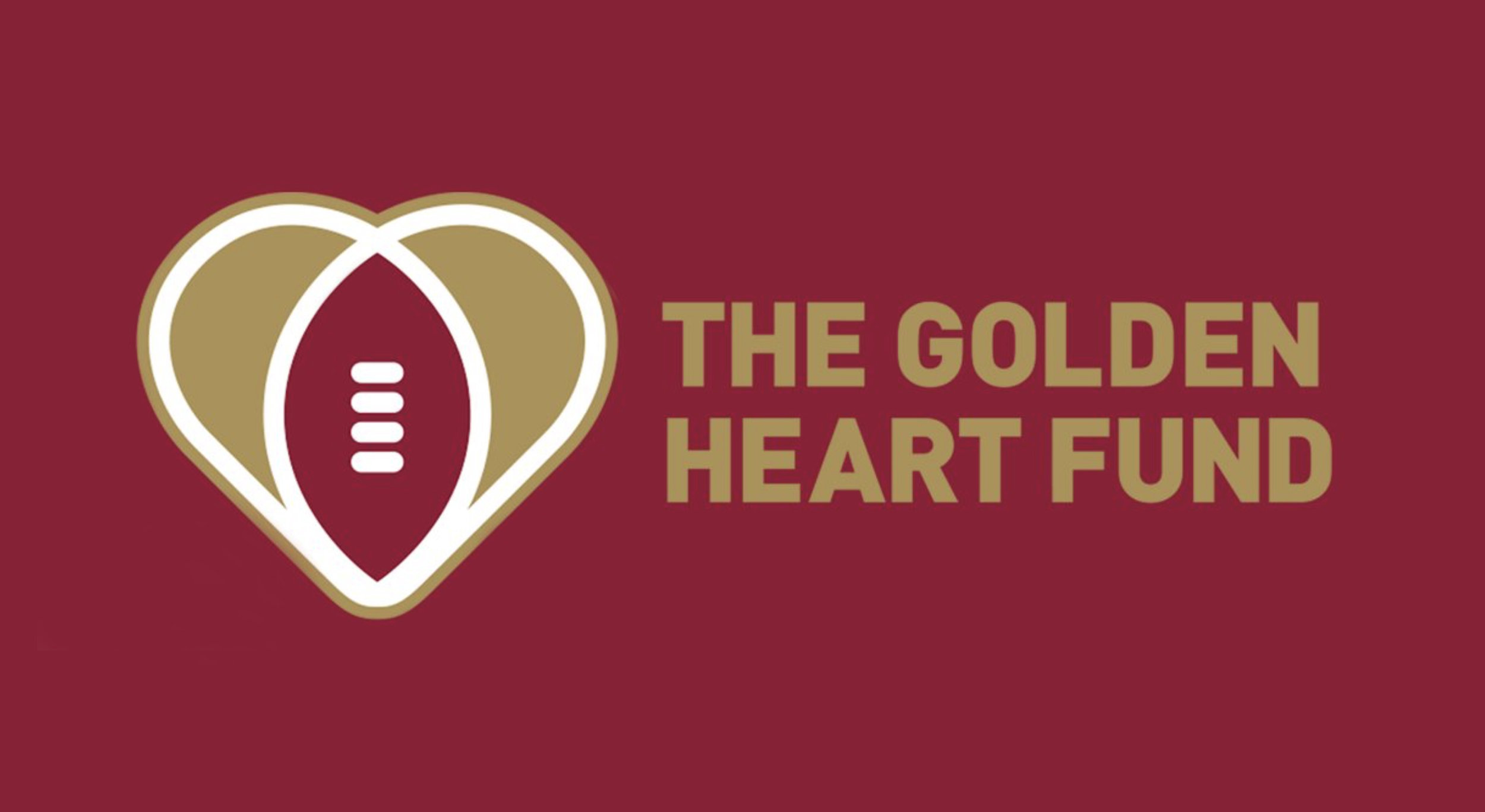 The Golden Heart Fund - 100% of the book royalties will be donated to the Golden Heart Fund.