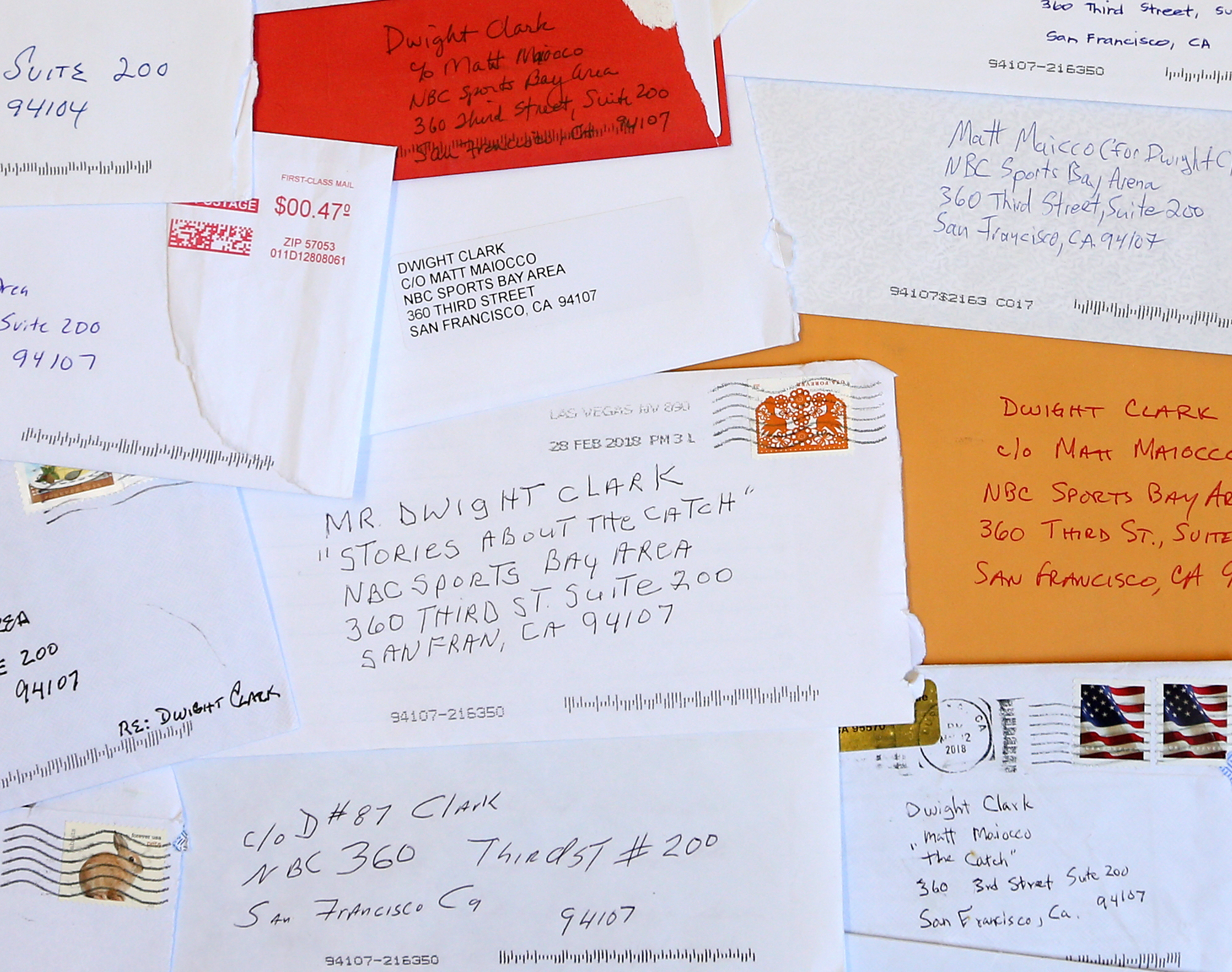 The Letters To 87 - Fans wrote to Dwight Clark to share their memories of The Catch and how it impacted their lives.