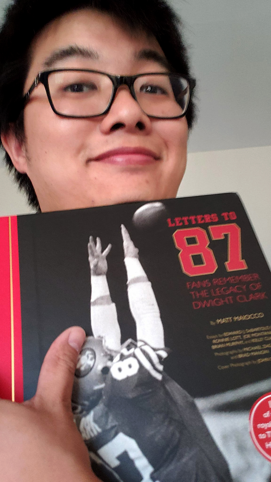@SamuelYLam - My copy of #LettersTo87 arrived today. What a beautiful book!