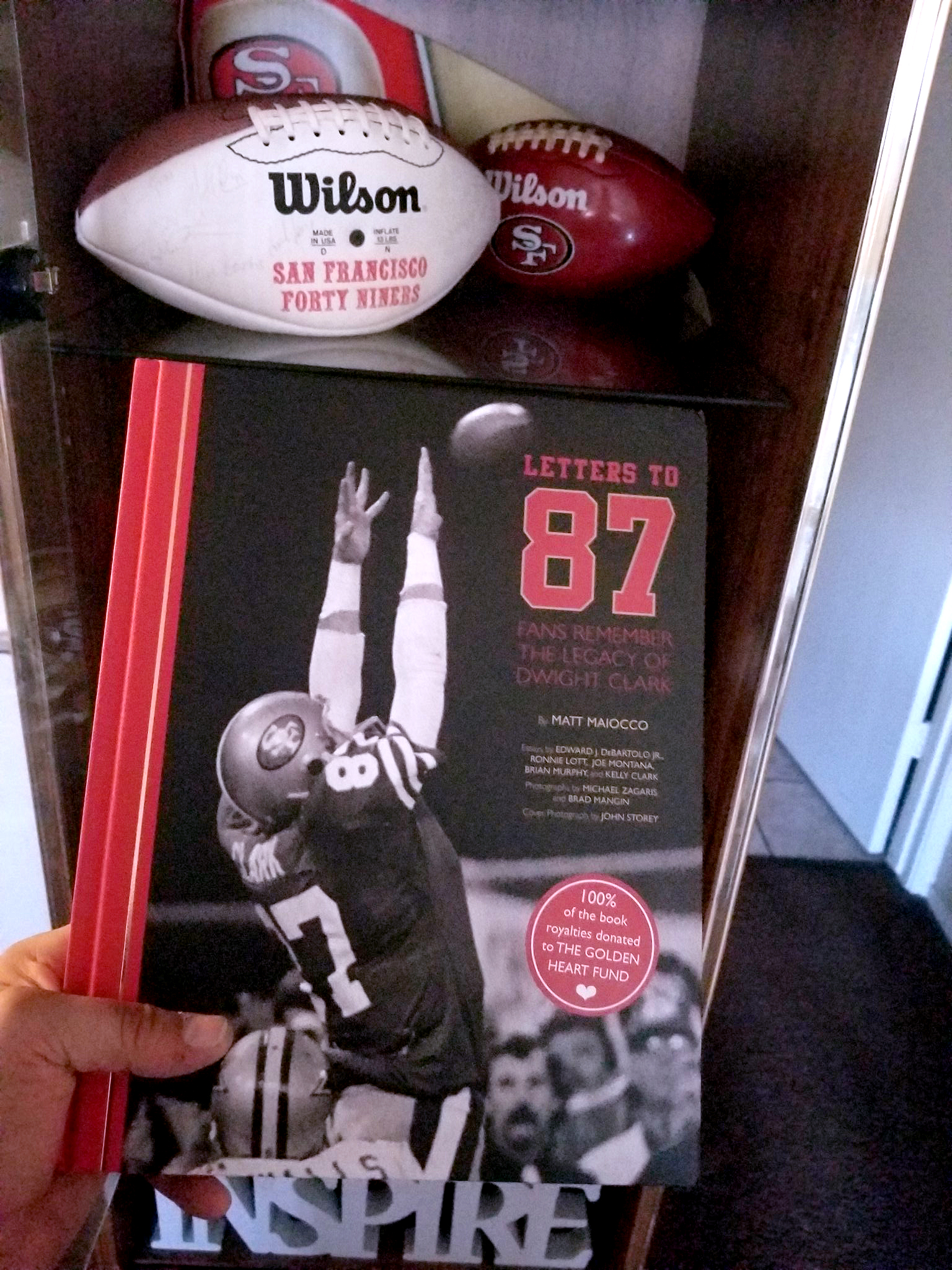 @grexx422 - I received my Letters to 87 book today on 8/7 @MaioccoNBCS.