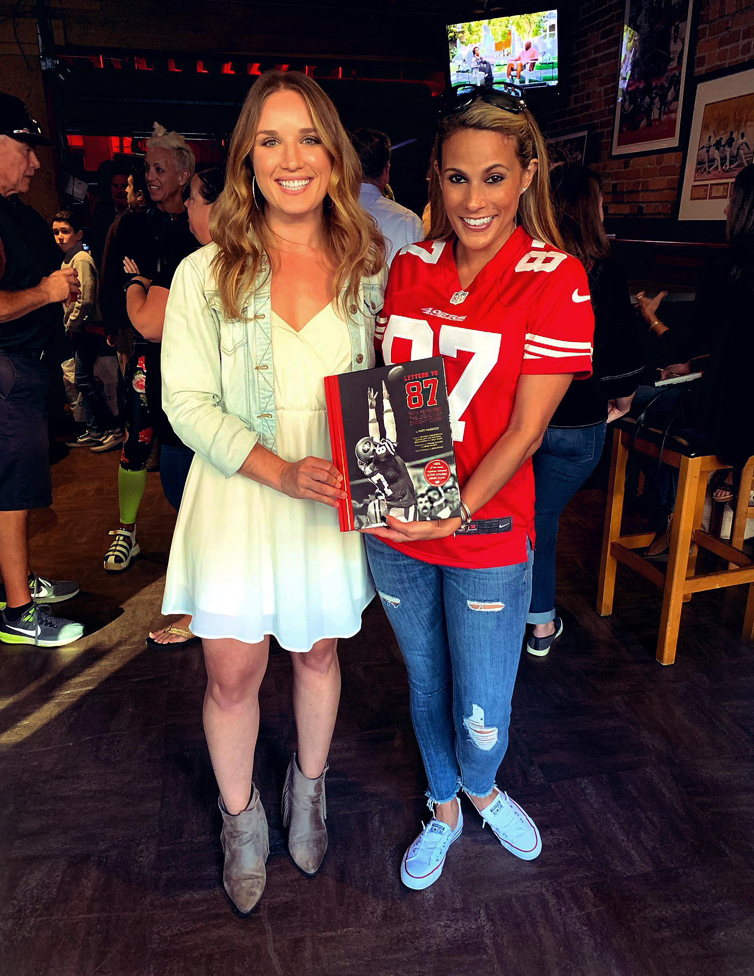 "@BJLaflin - ""Letters to 87"" book launch! You all are amazing."