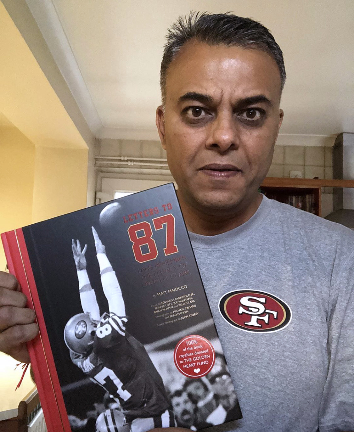 dipak_gohil - My copy of #lettersto87 arrived in the UK today.