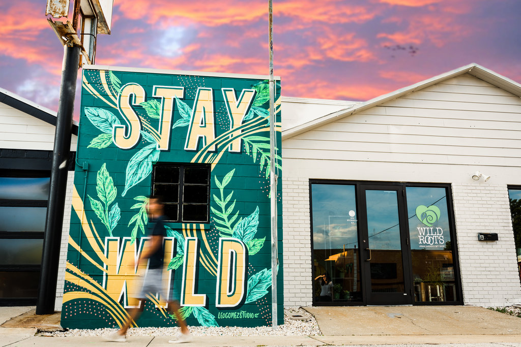 """Our Mantra - """"Stay wild"""" is an expression you'll come across often around here. It's a simple reminder to be true to yourself and never stop following your heart."""