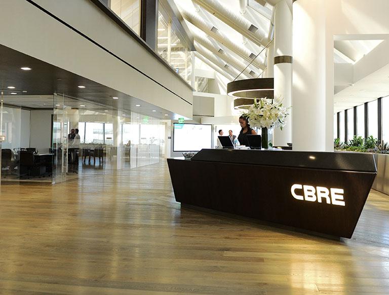 Project Highlight  I   CBRE   I  Current Service Client 2019