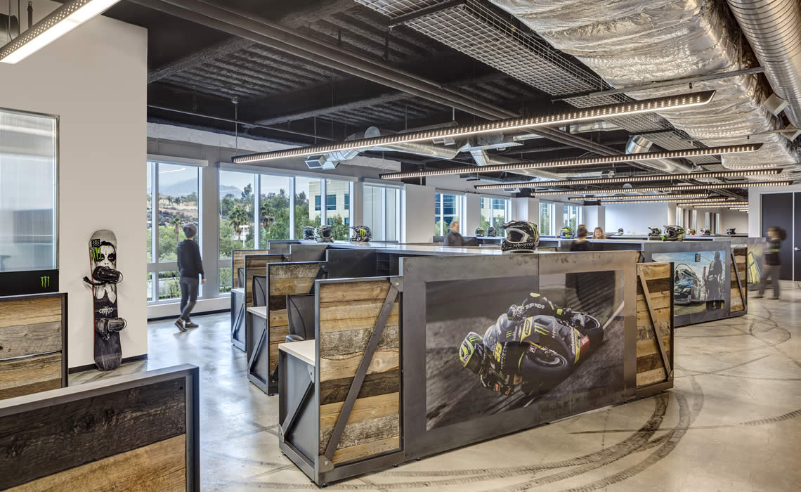 Project Highlight  I   Monster Energy HQ   I  Completed 2013
