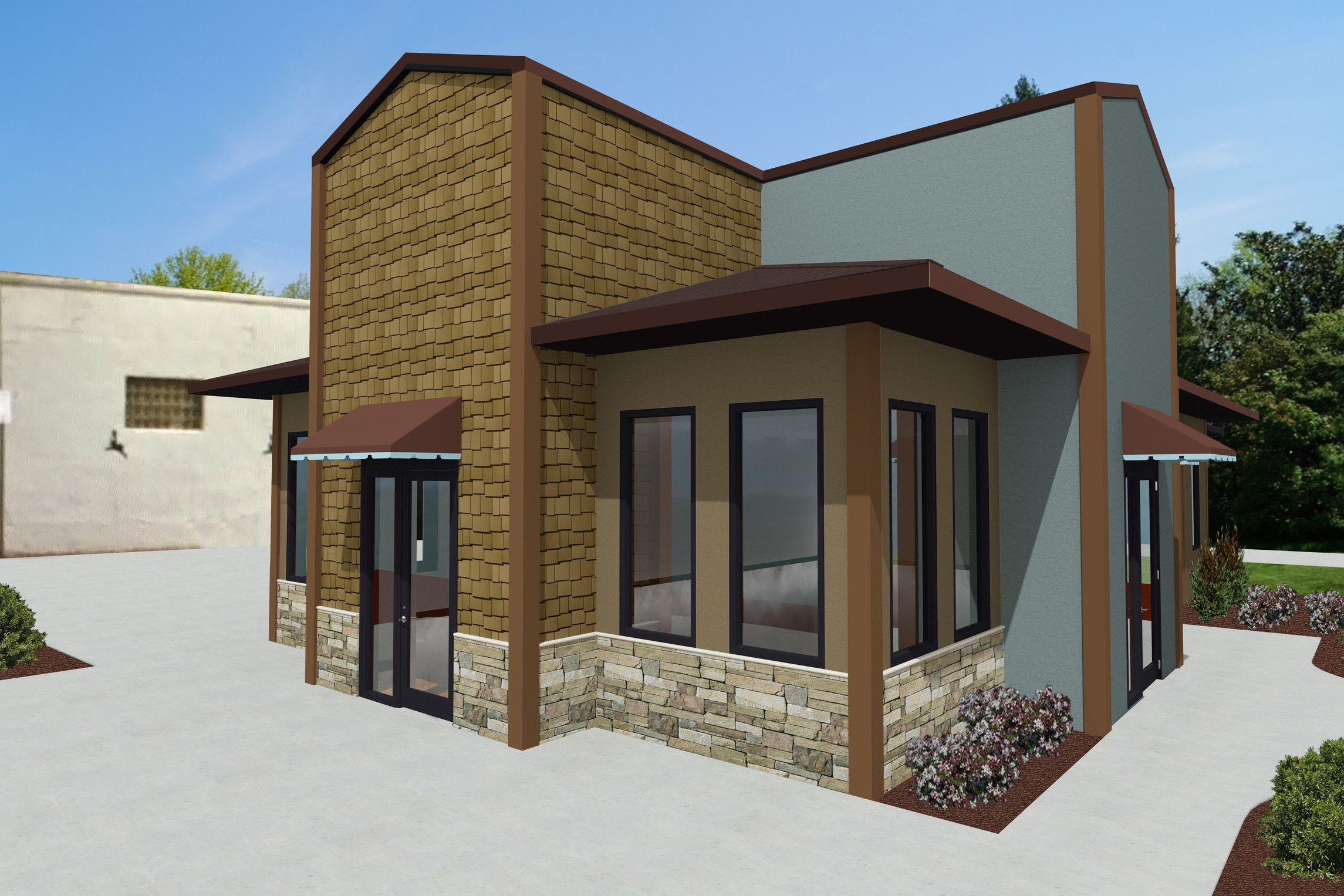 South Minnesota Ave Exterior Renovation - Sioux Falls, SD