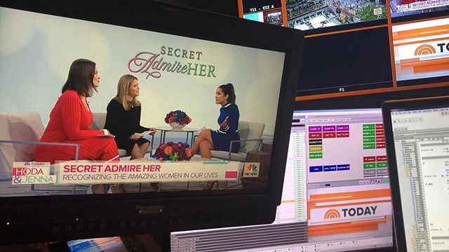 Be kind. It's free. Celebrating the good in this crazy world @todayshow @secret.admire.her