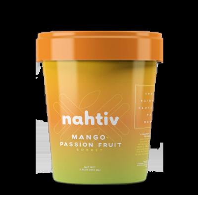 Nahtiv MANGO+PASSIONFRUIT SORBET
