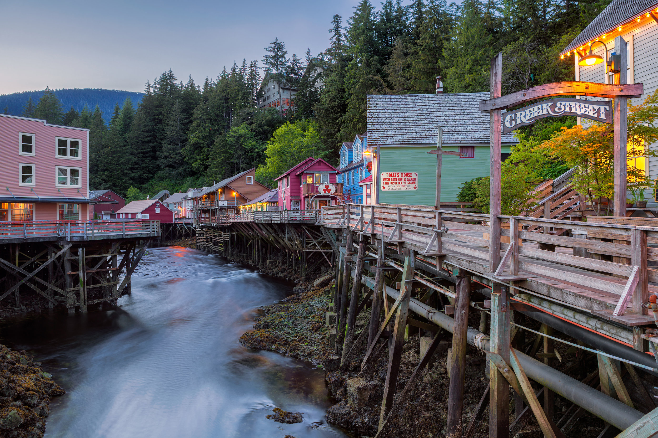 Inn at Creek Street - a collection of properties in the heart of Ketchikan