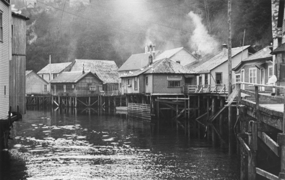 "Red light district - By the 1900s, Ketchikan had earned a reputation for housing certain ""indecent"" businesses sprouting from the mostly single, working-male trades. To contain these ""less-than-reputable"" enterprises, the City Council designated they remain east of Ketchikan Creek in"