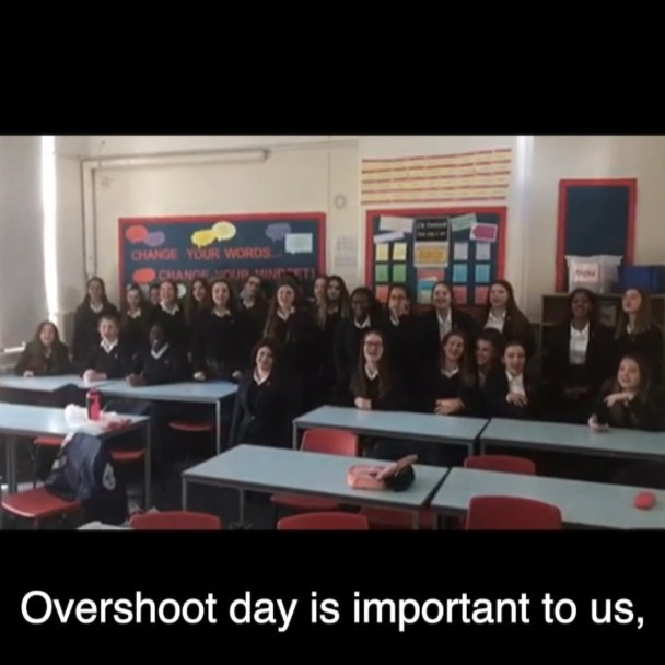 We asked you what earth overshoot day meant to you and here is what you said! To help us move back the clock on earth overshoot day, join a strike near you on May 24th!  @cassmaskell  @darcycameronx  @rhyslleighton  @tutucinha  @josiepear  @little_eco_girl  #youthstrike4climate #thereisnoplanetb #wearethefuture #thisisthefuture #systemchangenotclimatechange #ukscn #wethestudents