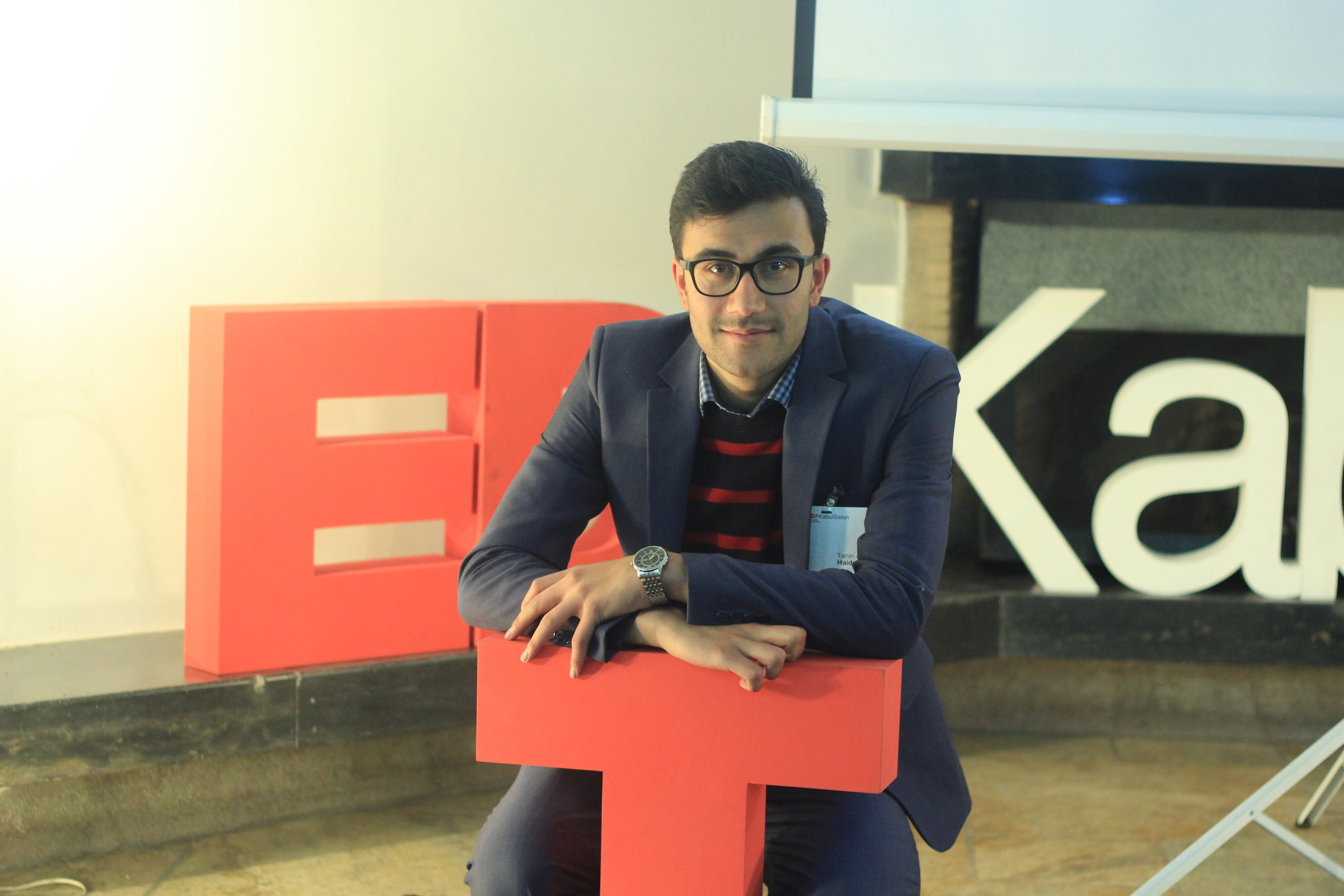 Tanin Haidary - Co-Organizer  Ph.D. Candidate in Planning, Design and the Built Environment  Favorite TED talk: Inside the mind of a master procrastinator
