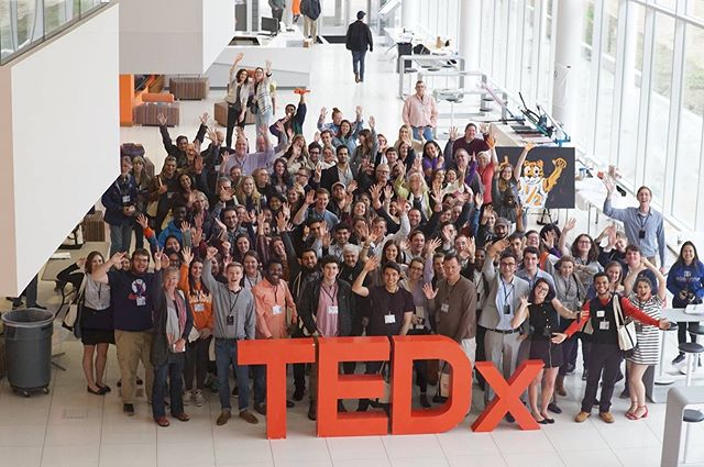 Breaking the Mold with our audience.  #tedx #tedxofficial #tedxclemsonu