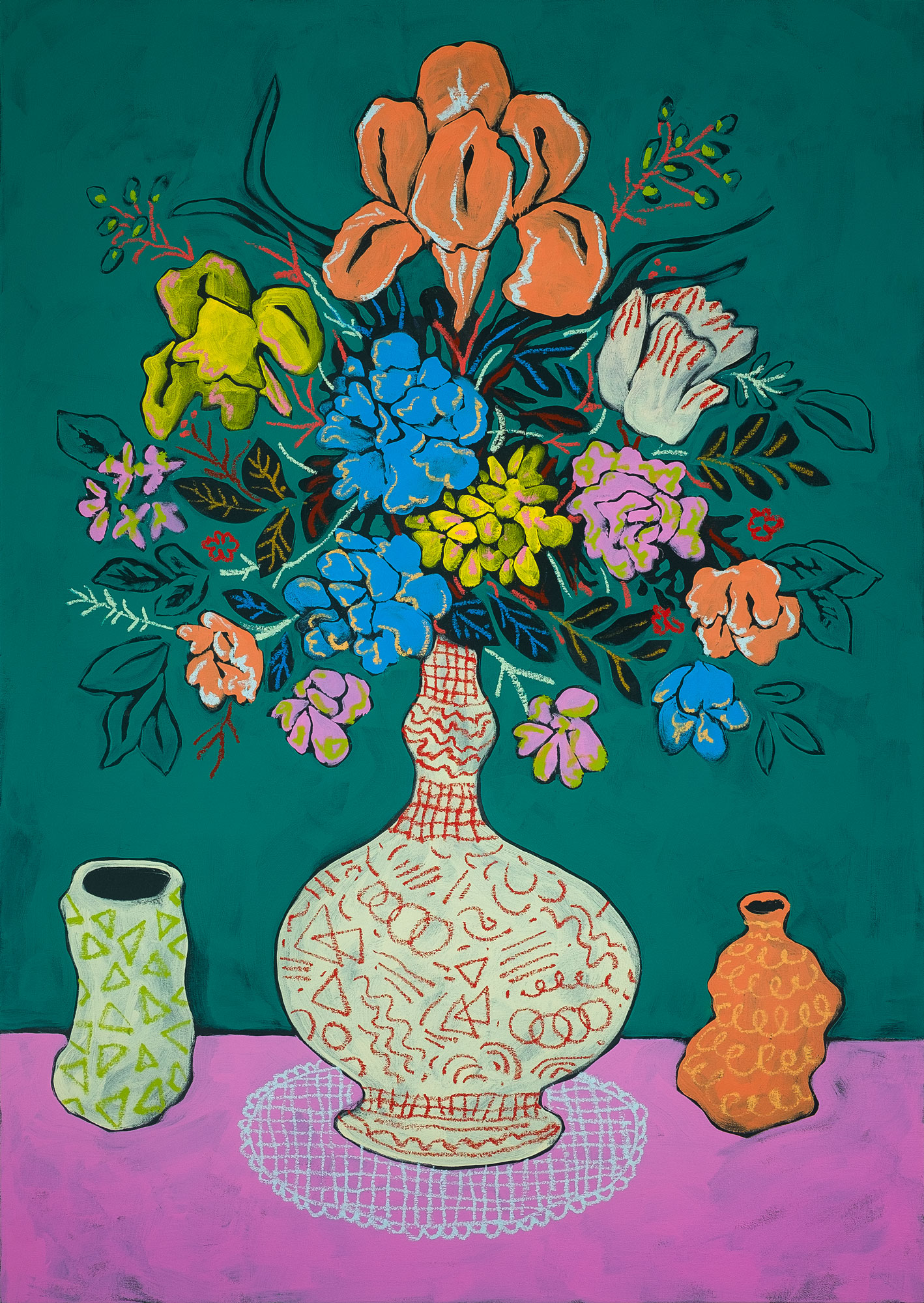 John-Kern-Holcomb-Green-Floral-with-Ceramics.jpg