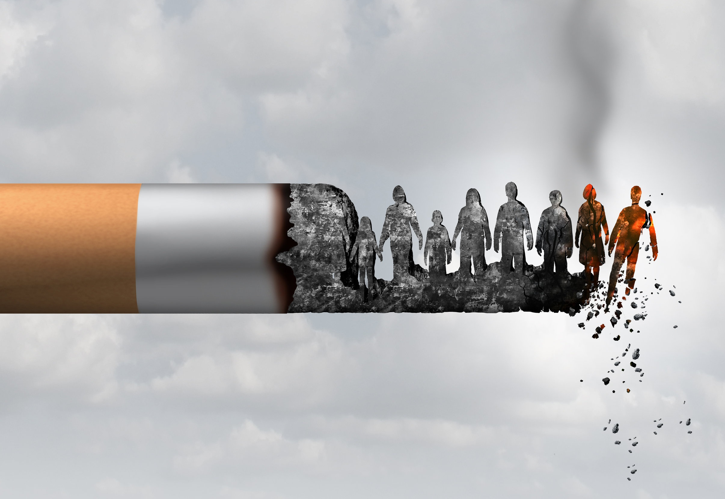 Why Quit Smoking? - Cigarettes contain arsenic, and the same toxic chemicals found in gasoline and dog poop. Tobacco smoke gives you pimples, yellow teeth and makes you smell. The QuitLine can help you put smoking out of your life for good.