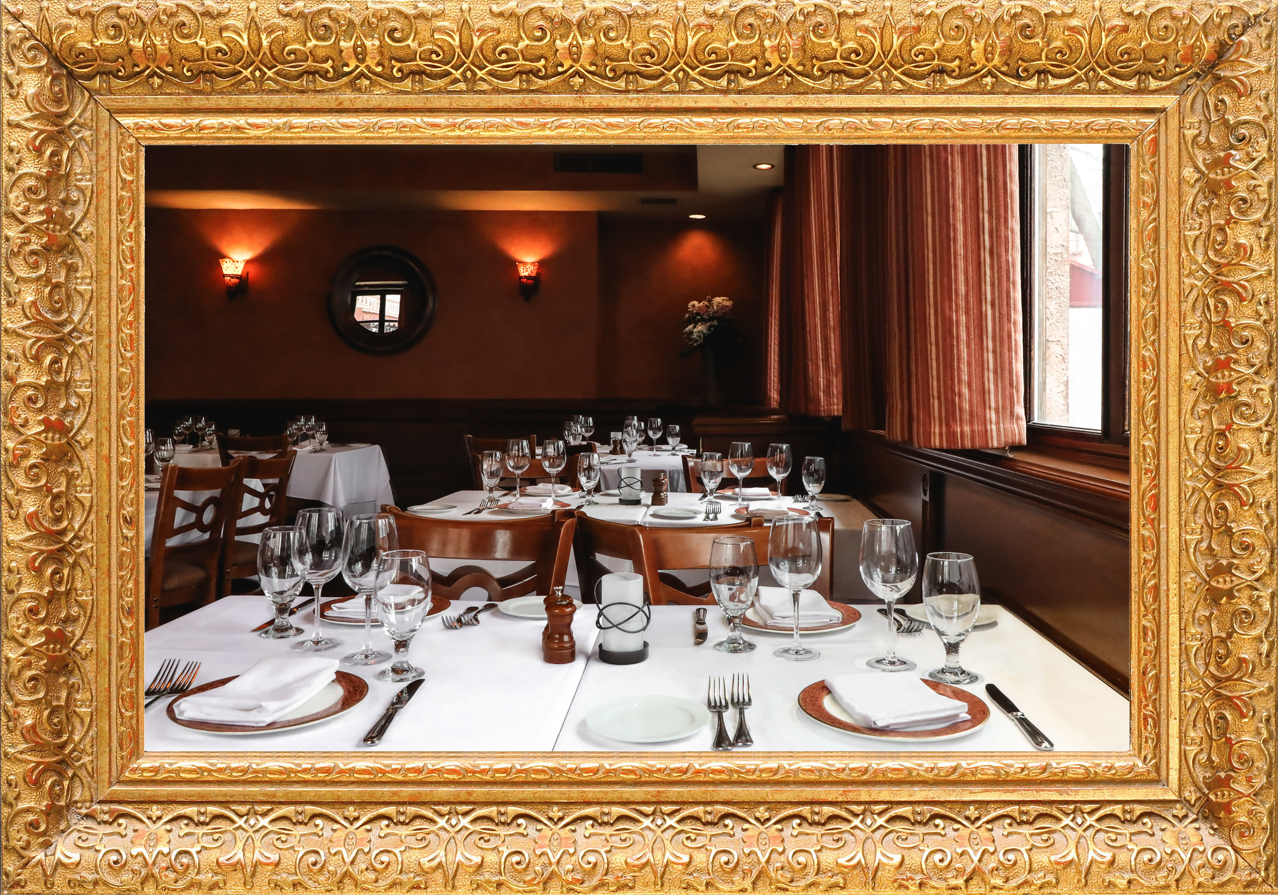 Private Dining - Customized to fit the specific desires of each party, our private dining options range from an intimate seating to a full restaurant takeover.