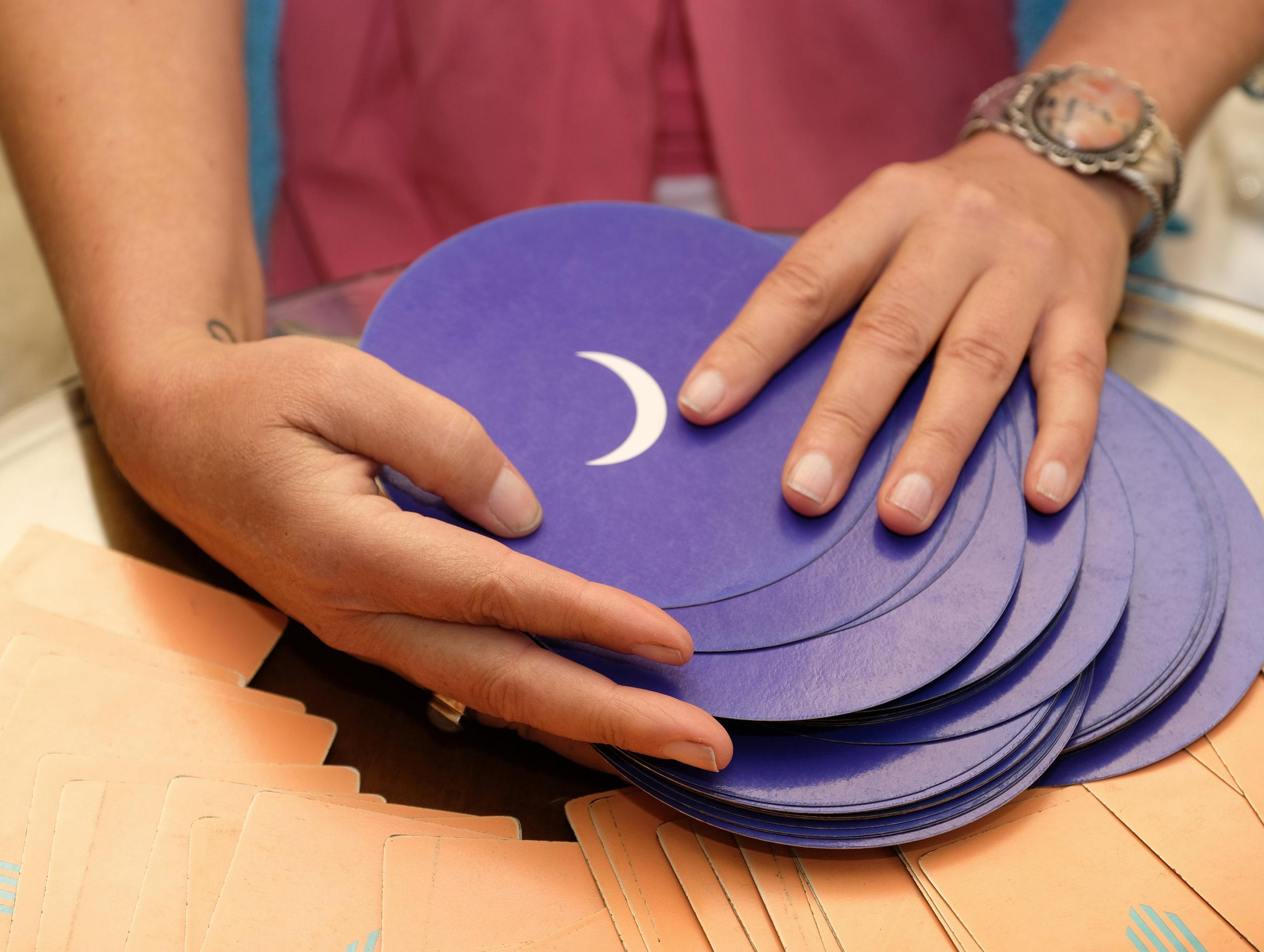 psychic Tarot card reading by Danai of Moonflower Medicine