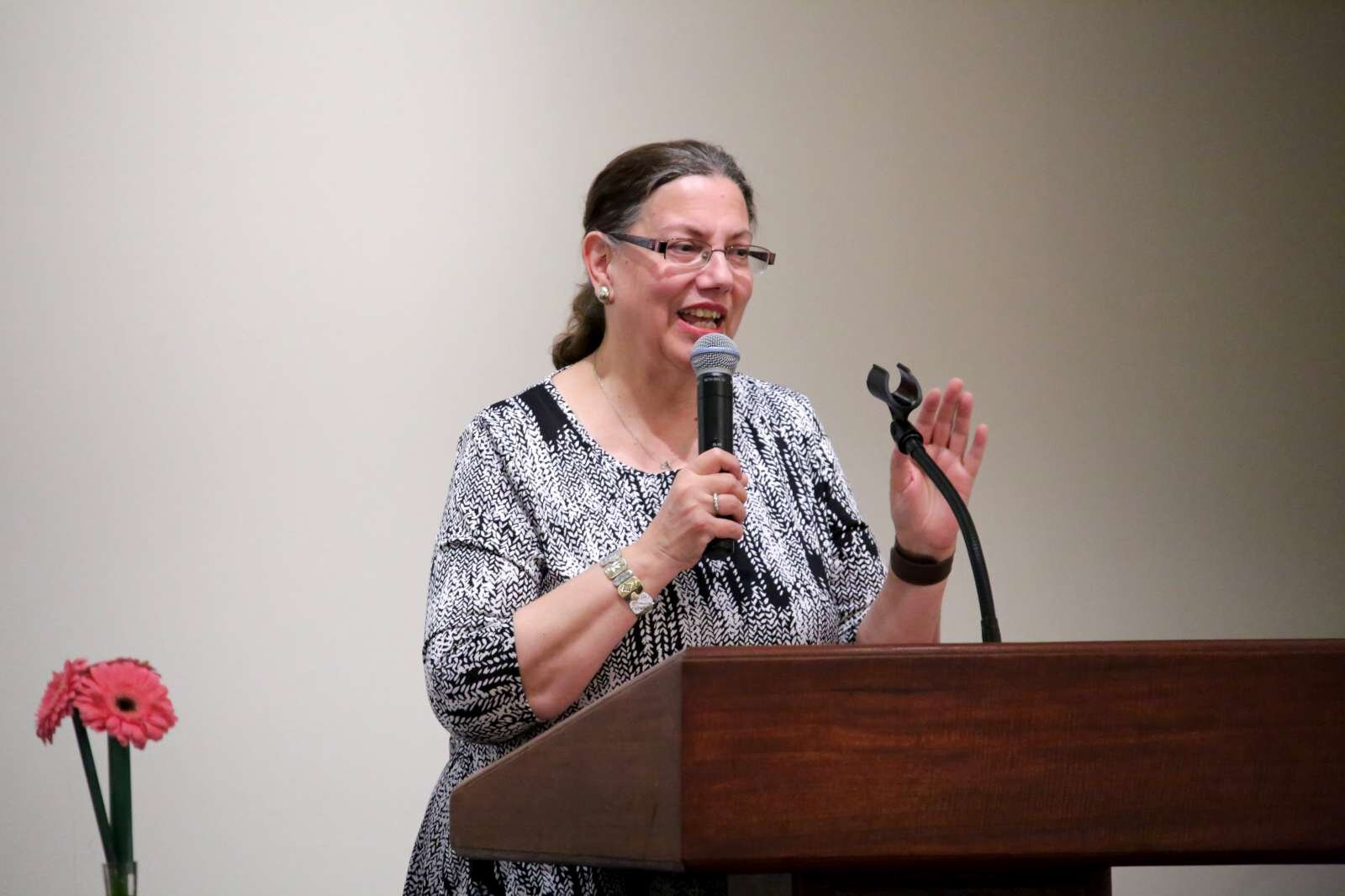 Panelist representing the Jewish faith Ms. Rhonda Williams