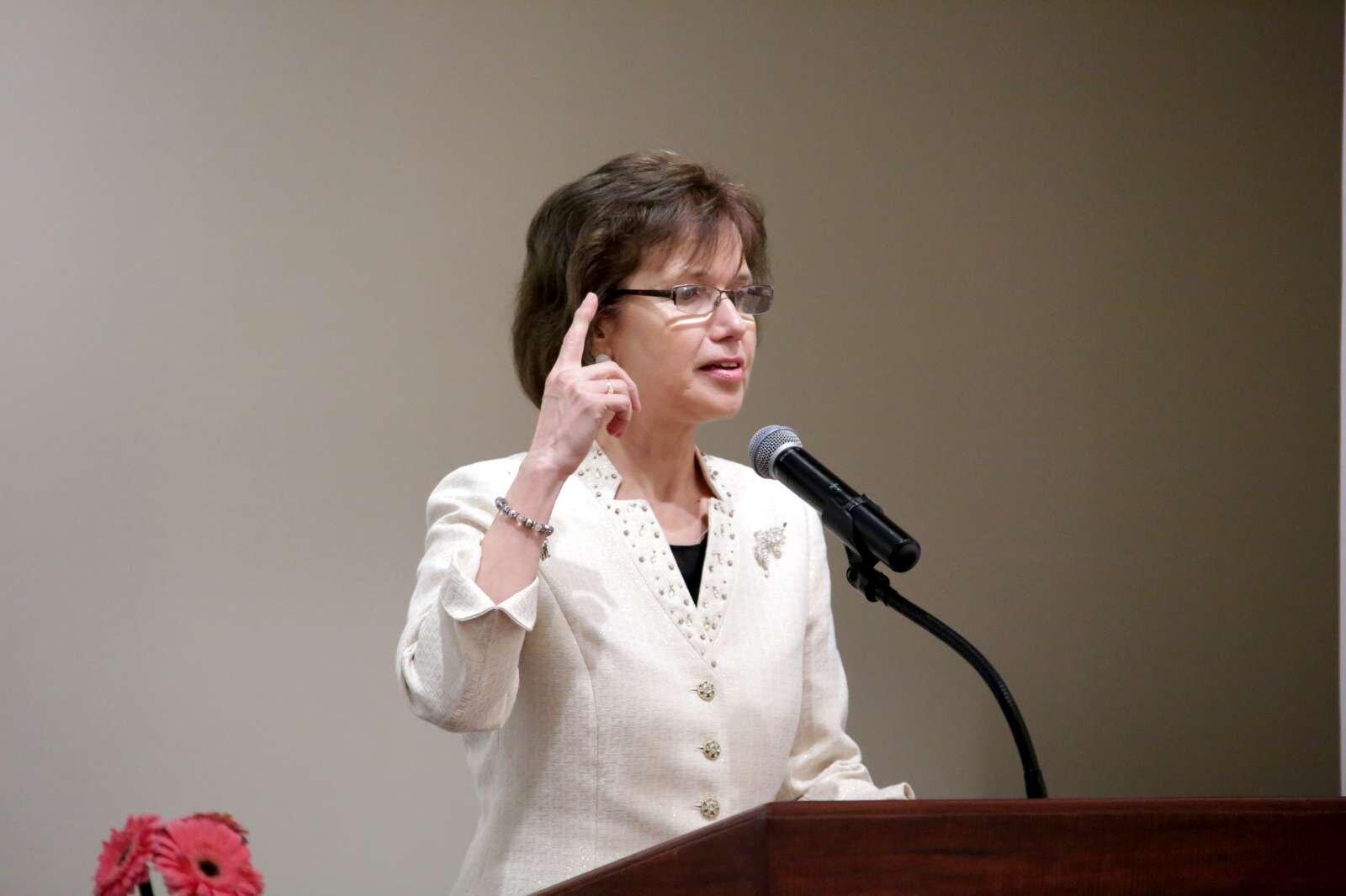 WFWP USA President Angelika Selle