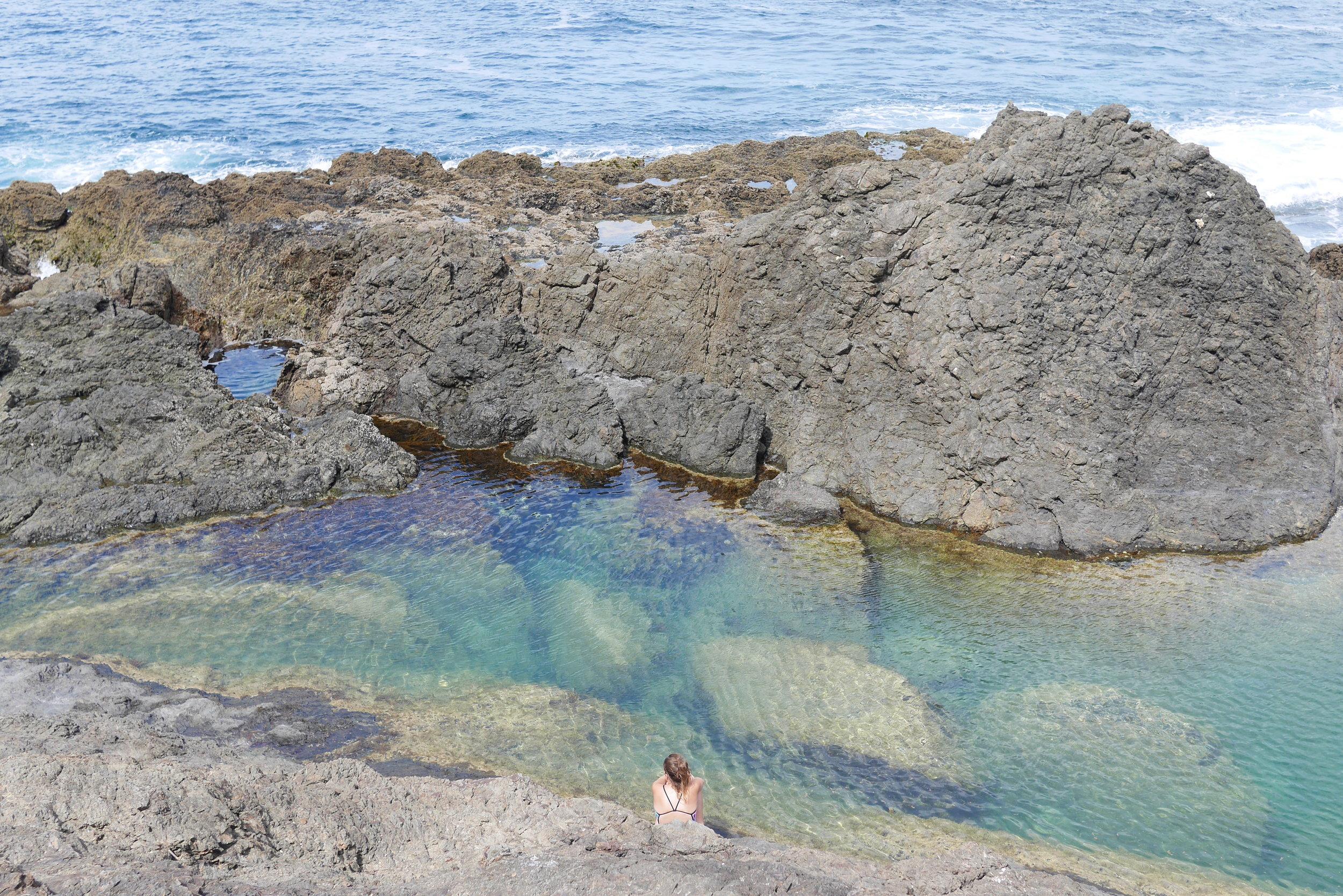 Mermaids Pools, Matapouri NZ
