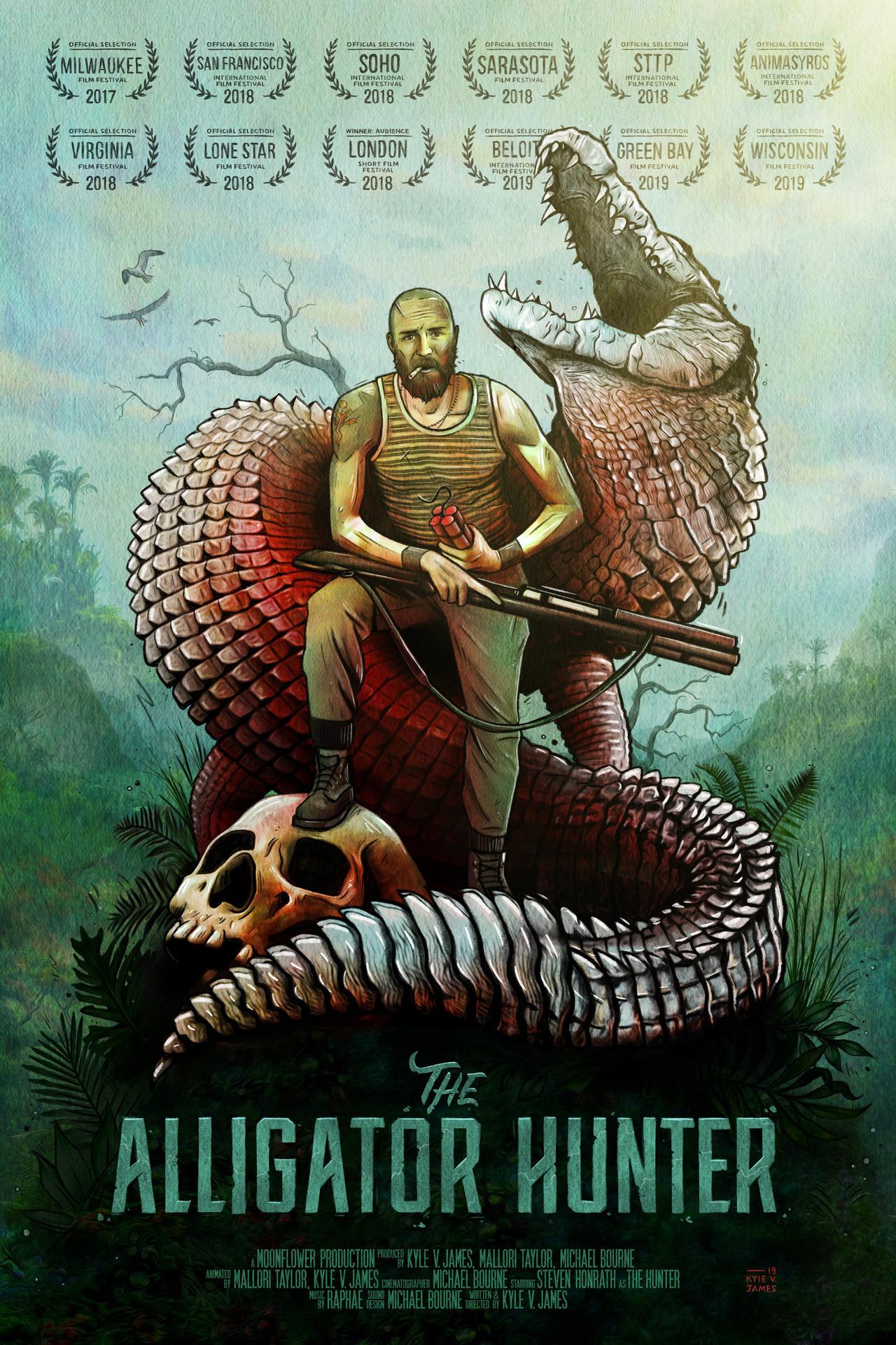 Poster Design - The Alligator Hunter
