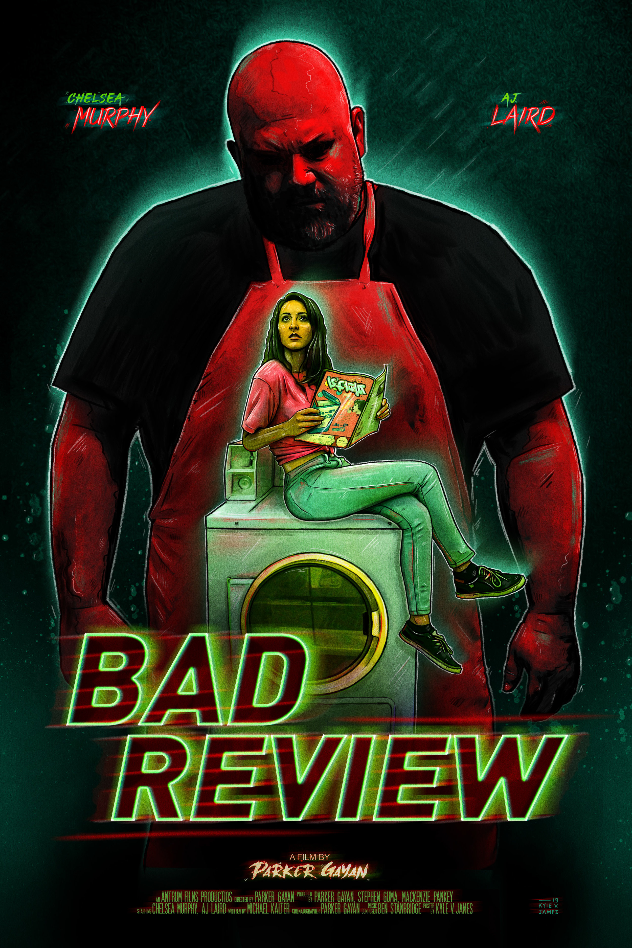 Bad Review - Official Poster